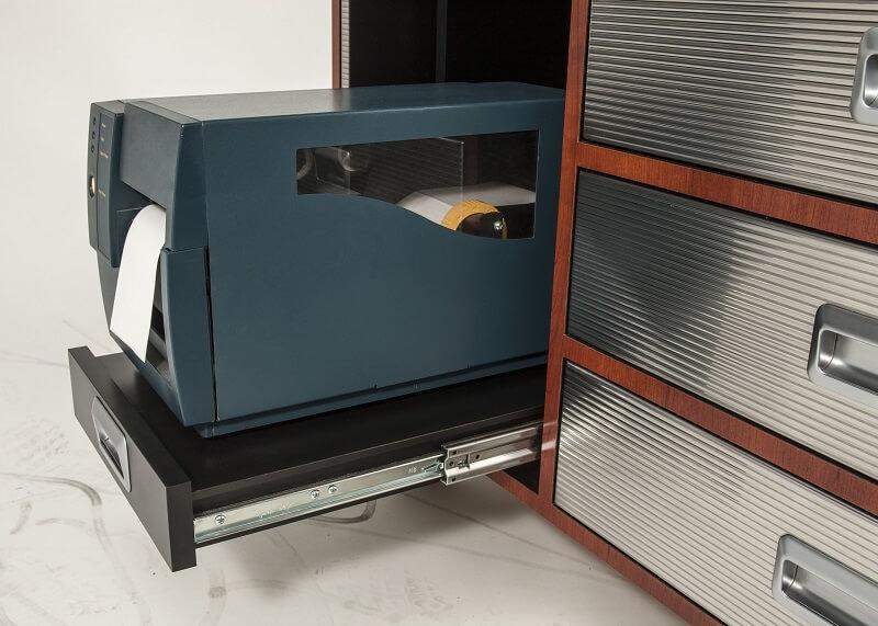 accuride dz3657 teleskopschienen f r breite schubladen 100 vollauszug 19 1x53 1 124kg. Black Bedroom Furniture Sets. Home Design Ideas
