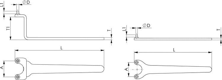 rostfrei ISO 14586 Senk-Blechschrauben C 4,8X50 TX25 A2 Edelstahl 20 St/ück mit Innensechsrund